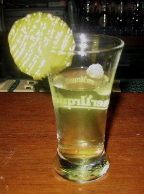 pickle shot