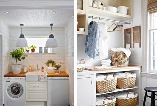 17 mejores ideas sobre cuartos de lavado rojos en for Cesto ropa plancha