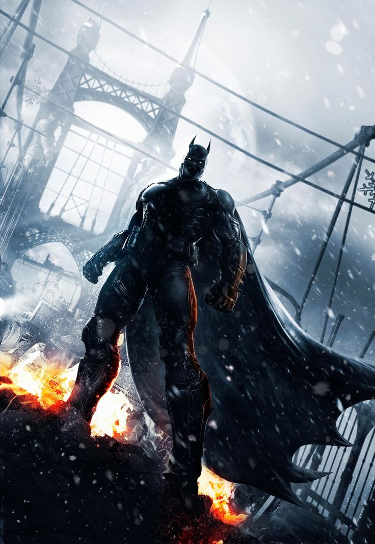 Batman Arkham Origins gets a Fabulous Poster