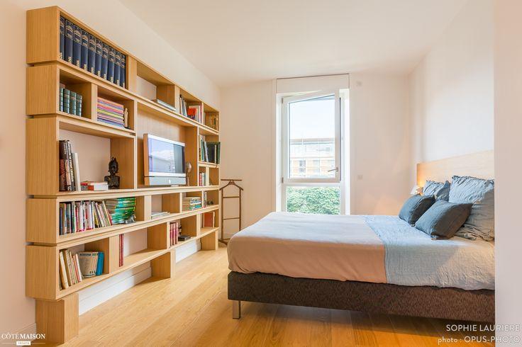 Une chambre avec grande biblioth que un travail sign - Une chambre de reve ...