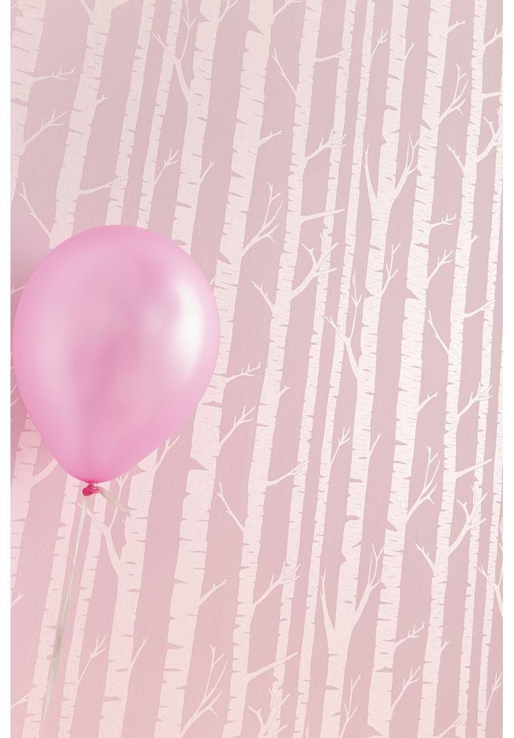 Caselio Tapete Baumstämme puder/perlmutt 'Oh La La' bei Fantasyroom online kaufen