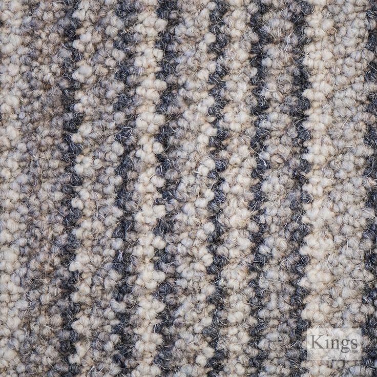 #Telenzo #Carpets Barbican Stripe  www.kingsinteriors.co.uk/flooring/striped-carpet