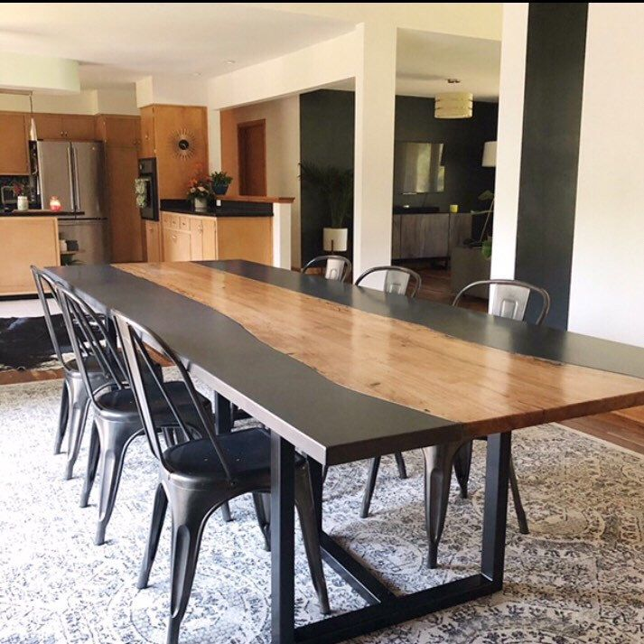 Modern Trestle Dining Table Legs 28 H X 35 W X 25 L T Look