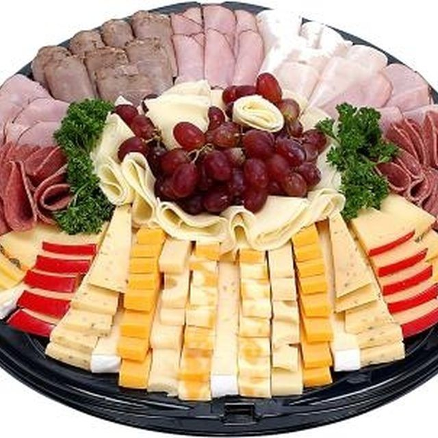 Sandwich trays offer variety and a budget-friendly dish.                                                                                                                                                      More