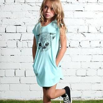 Minti Kitten Drape Dress - Ice Preorders now open at www.ragamuffins.co.nz