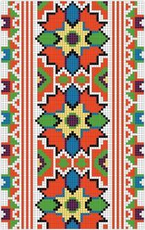 Українська вишивка, безкоштовна схема 48