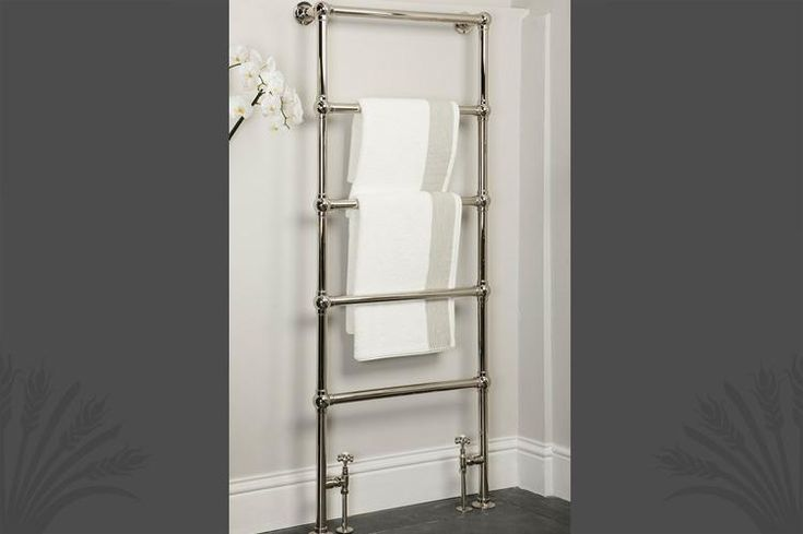 Width: 675mm; Height: 1650mm; BTU: 1600. The Ladder Towel Rail is made from 100% solid brass with 5 horizontal bars. Suitable for central heating systems, can also be supplied as dual fuel versions fitted with an electric element which regulates heat output via an integral thermostat that you can operate the towel rail when the central heating is switched off, allowing you to warm your towels no matter what time of year. Note that radiator valves are not included. Catchpole & Rye