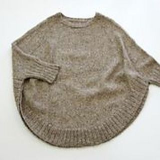 Veronika-flat_small2 - poncho pattern