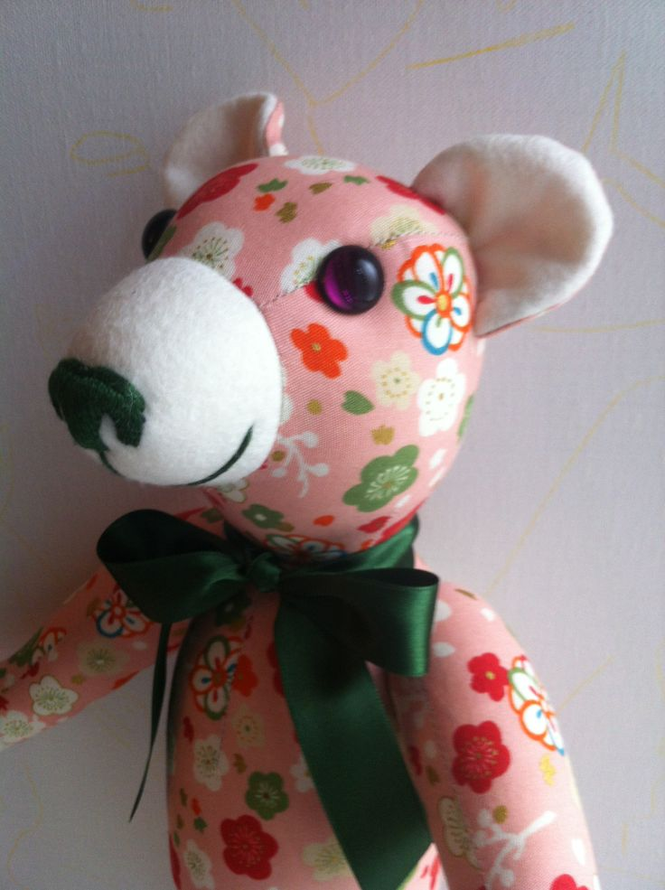 "This GSbear belongs to ""Flowers"" Teddy Bears family."