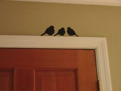 Pra pintar em cima da porta!