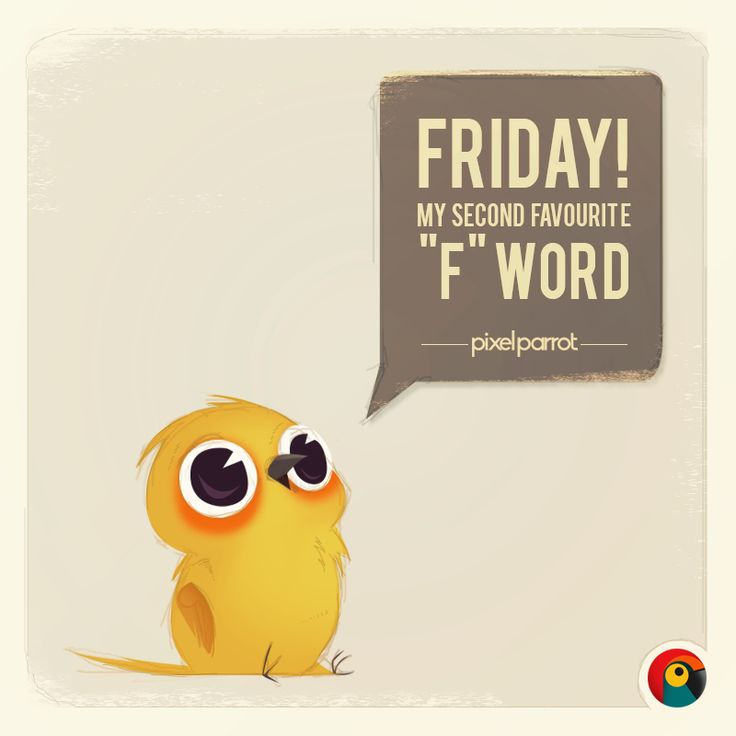 """Pixel Parrot http://www.pixelparrot.co.za/  Friday, My second Favorite """"F"""" word"""