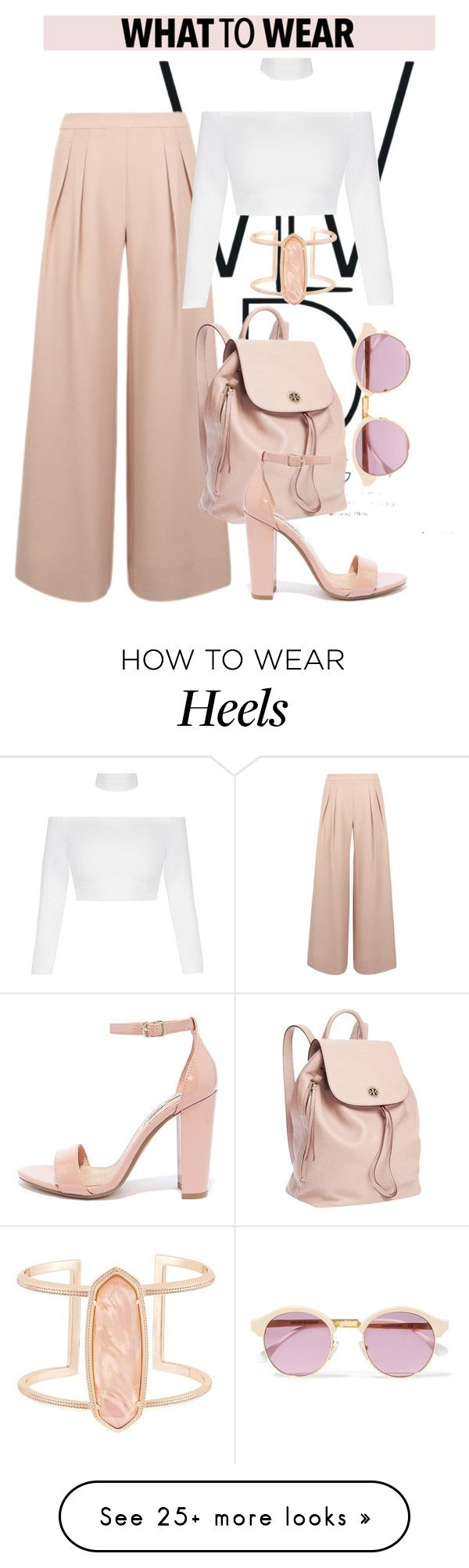 """""""OOTD"""" by gigi-lucid on Polyvore featuring Kendra Scott, Antipodium, Tory Burch, Sheriff&Cherry, Steve Madden, Spring, outfit and polyvoreeditorial"""