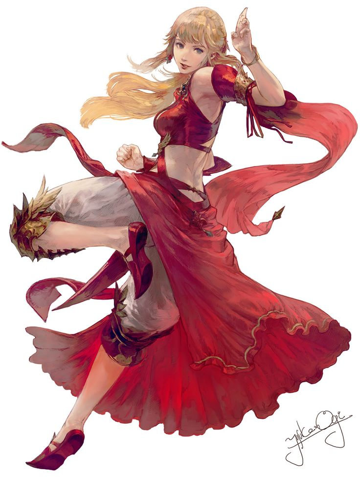Lyse from Final Fantasy XIV: Stormblood