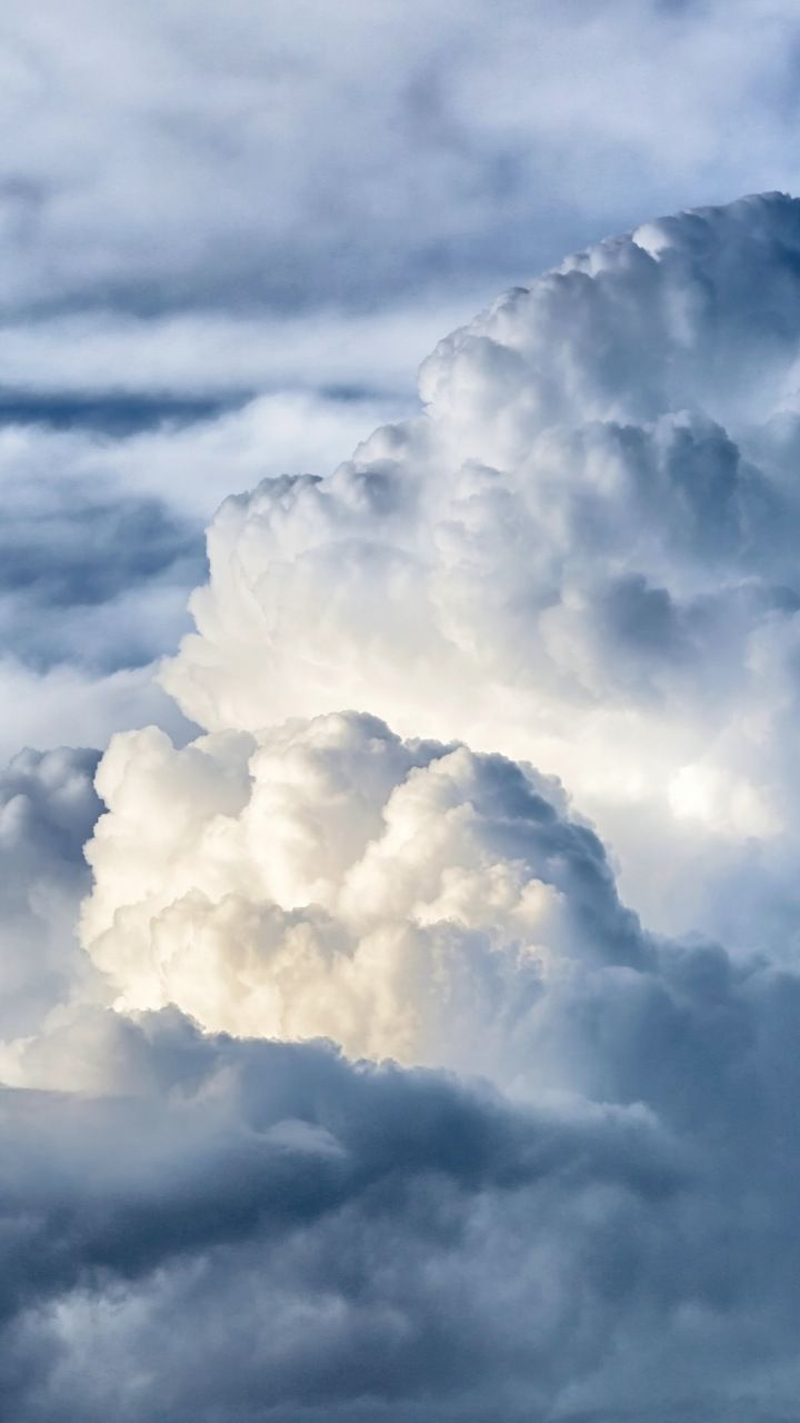 Sky Nature White Clouds 720x1280 Wallpaper Clouds Sky Aesthetic White Clouds