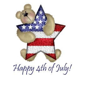 4th of july cartoon clipart