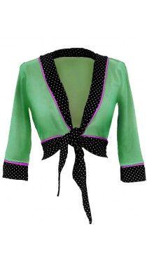Ecouture by Lund - Vera- binde bluse i øko bomuld