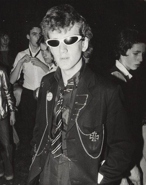 Punks at the Roxy, London, ca 1977