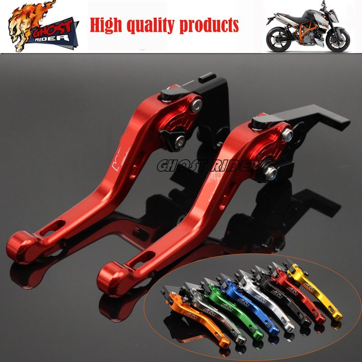 Hot Sale Motorcycle Accessories Short Brake Clutch Levers Orange fits for KTM 125/200/390 DUKE RC125/200/390