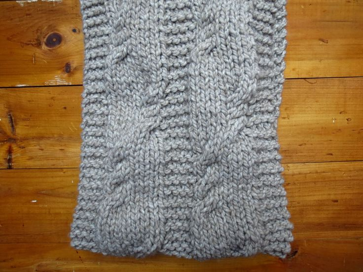 L'Araignée Gambadeuse: infinity scarf
