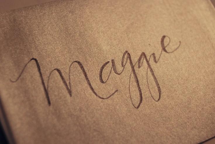 Fake Calligraphy Tutorial   leachlove