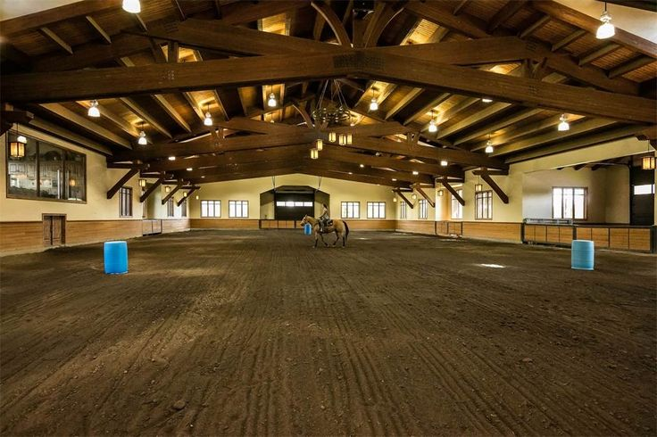 Another picture of the amazing arena at R & B Ranch- Sisters, OR