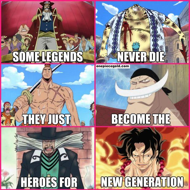 One Piece | Legend Never Die
