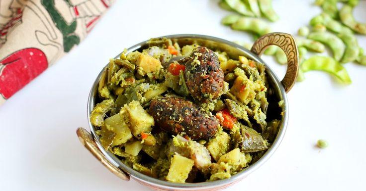 Undhiyu recipe   Gujarati UndhiyuJeyashri's Kitchen Undhiyu recipe   Gujarati Undhiyu