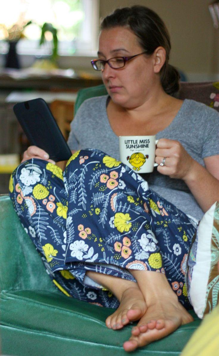 weekend sewing pj pants || Buzzmills
