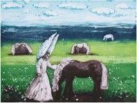 Printer Makers   Contemporary Art   Karolina Larusdottir - The Angel and the Horse