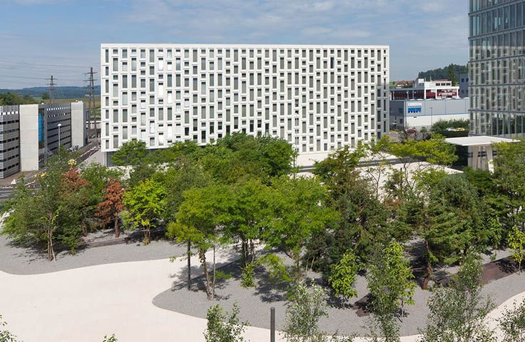 Roche Customer Center, 2007, Rotkreuz, by Scheitlin & Syfrig