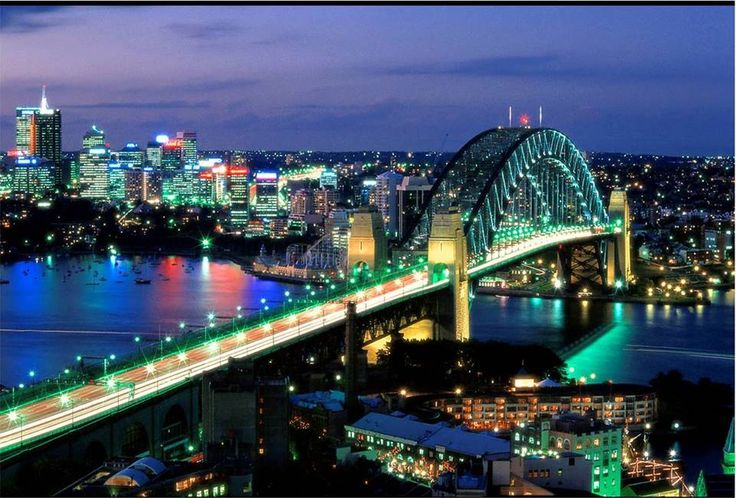 Sydney Harbour Bridge - Australia.