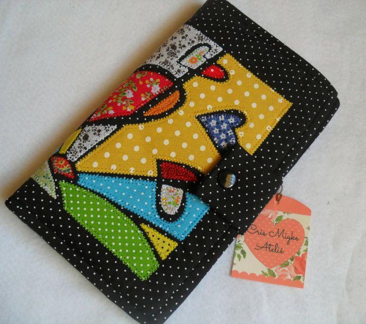 Delicinhas e Coisinhas: Carteira em Tecido com Releitura de Romero Britto para a 3ª Confraria da Costura