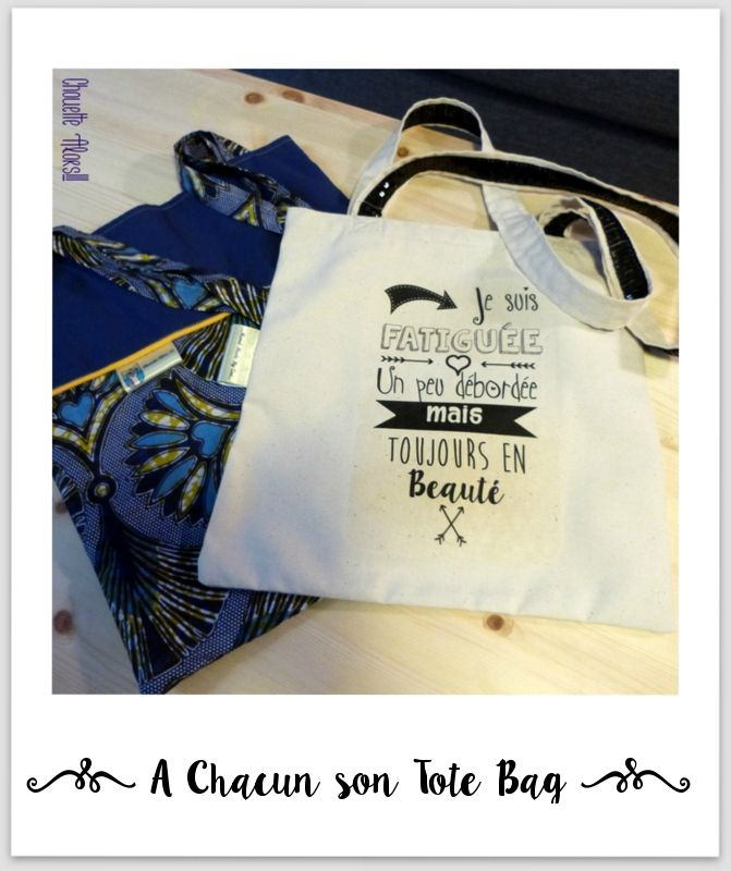 Tote Bag Wax / Phrase