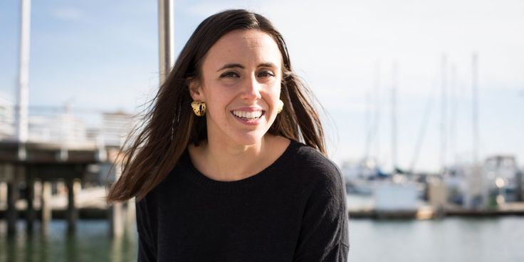 Sarah Patterson, founder of an organic skincare line, lives on a sailboat in the San Francisco Bay.