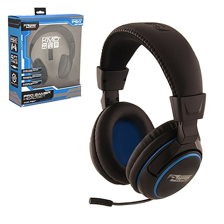 Black PS4 Pro Gamer Headset - Large https://www.retrogamingstores.com/gaming-accessories/ps4-headset-pro-gamer-headset-large-kmd  Get always connected as you play the game and bluff your enemy with this amazing Pro Gamer headset.