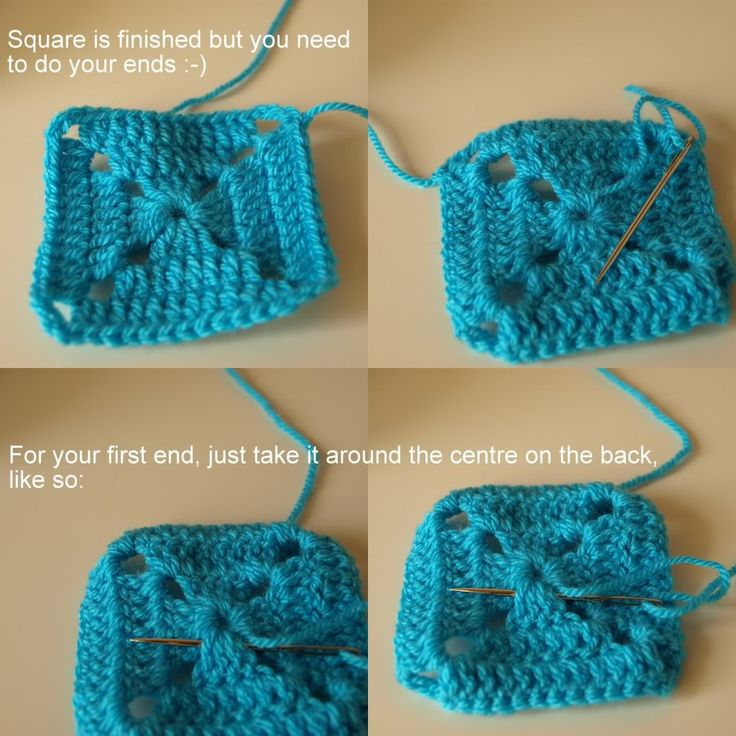 Solid Granny Squares Pattern (Elmer Squares) « Little Tin Bird