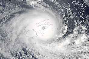 Tropical Cyclone Winston Slams Fiji : Natural Hazards : NASA Earth Observatory