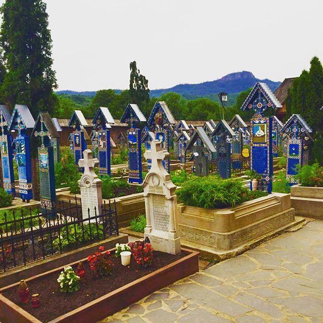 Merry Cemetery in Maramures, Romania