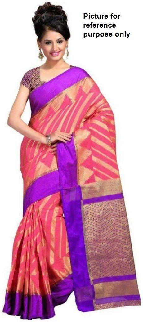 Laheriya Silk Saree #113