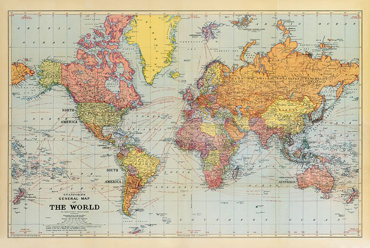 20 best images about ideer til hjemmet on pinterest 2nd for Executive world map wall mural