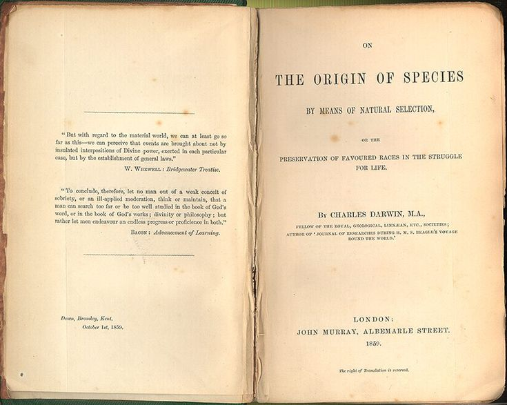 Origin of Species - Charles Darwin - Wikipedia, la enciclopedia libre