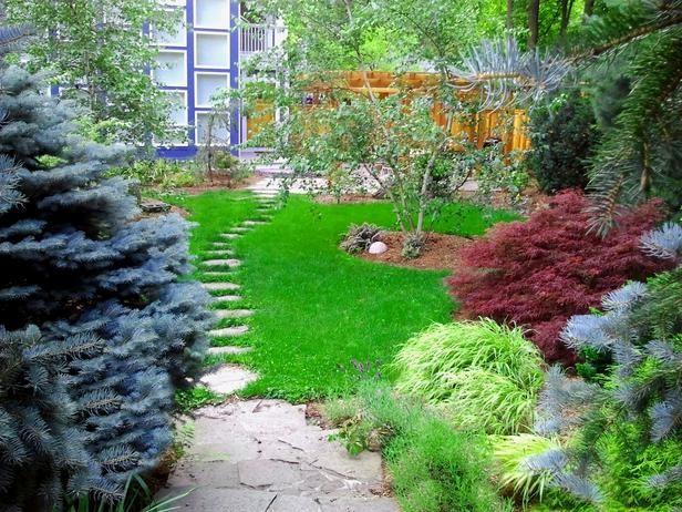 15 Design Ideas for Beautiful Garden Paths : Home_improvement : DIY