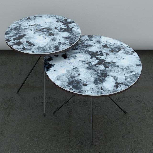 Side table from Kosmonaut. Danish company in Poland