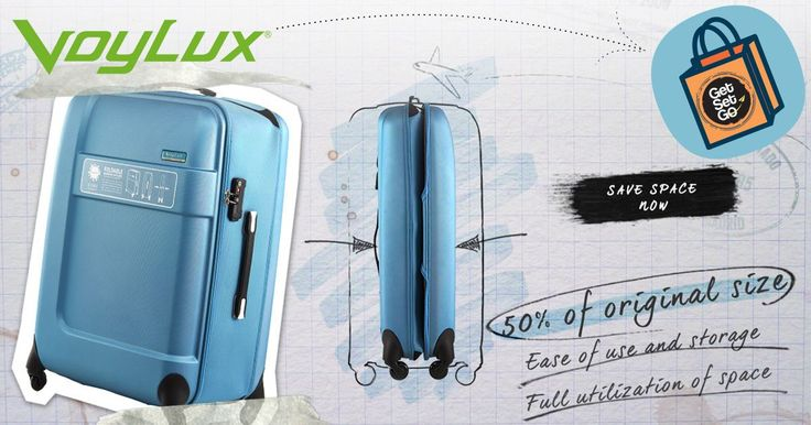 We Now Have Foldable Luggage For Sale!