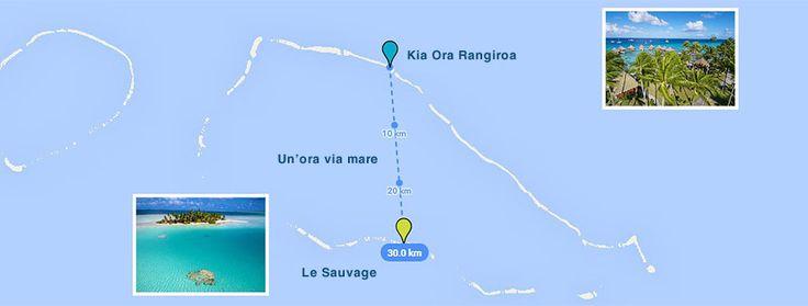 L'isola privata mappa