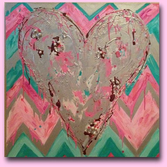 57 best painted canvas ideas images on Pinterest   Canvases ...