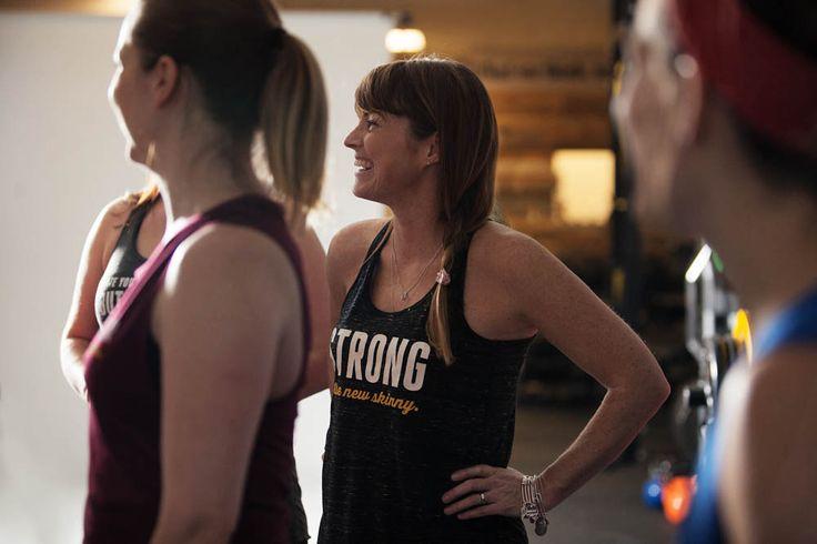 Strong is the new skinny | Women's Flowy Racerback Tank by ASSKICKER INK.