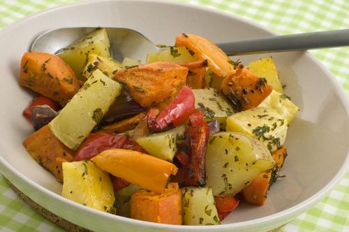 Roasted Vegetables http://www.coconutoil.best/recipes/roasted-vegetables/