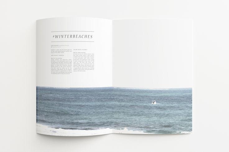 Winter beach - Hashtag Magazine - Publication
