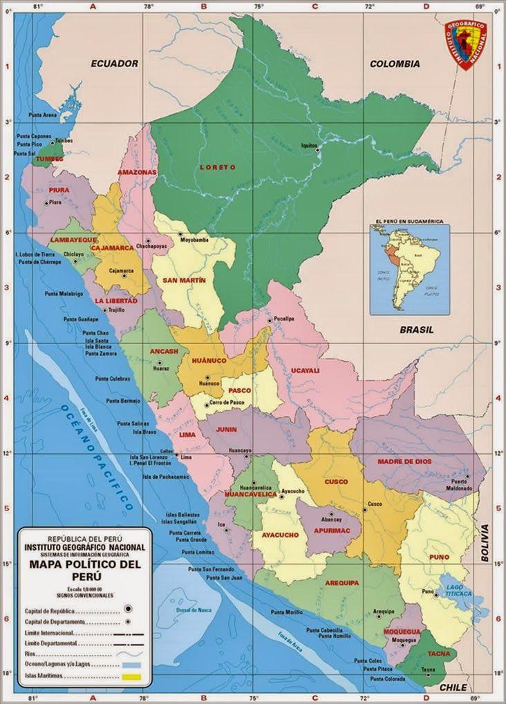 El mapa político   Ciencia Geográfica